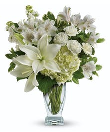 The purest love floral bouquet