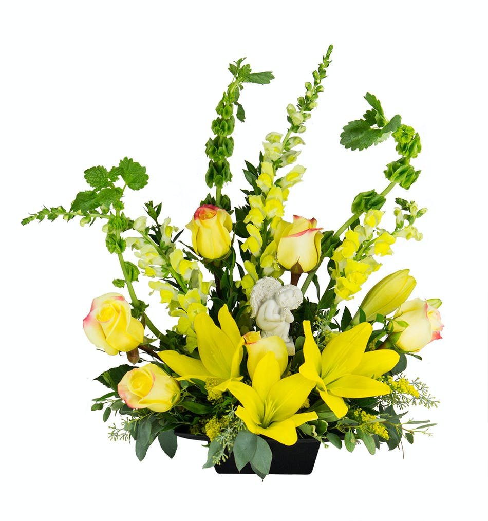 Heavenly Angel Sympathy Flowers Delivery In Baltimore Md