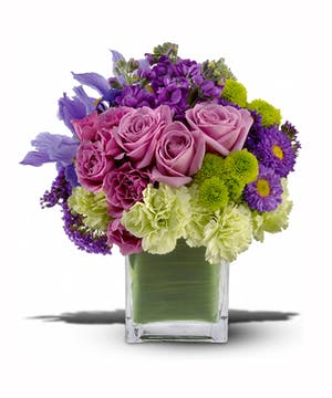 Brighten someone's day with our Mod About You bouquet