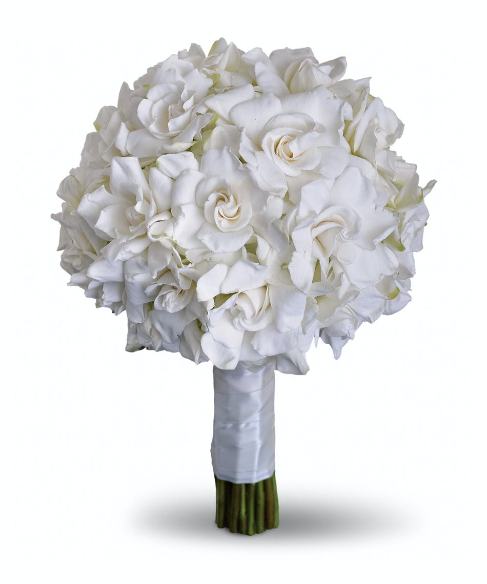 Gardenia and grace bouquet beloved for their enchanting fragrance gardenia and grace bouquet beloved for their enchanting fragrance gardenias are gathered with hydrangea and roses into an elegant white bouquet izmirmasajfo