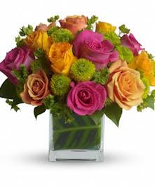 Color Me Rosy Spring Bouquet