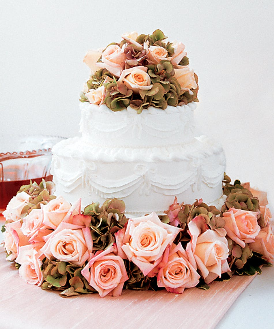Sweet Visions Wedding Cake Decoration Circle And Crown A Simple