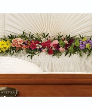 Send a beautiful floral tribute for your loved one.