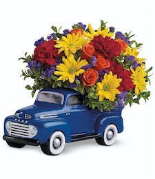 Ford Pickup Bouquet