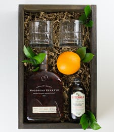 An Old Fashioned Gift Crate